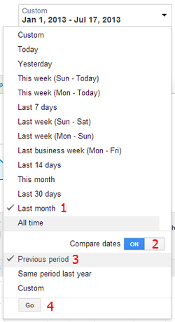 New to AdWords: Change and Percent of Change Comparison Metrics