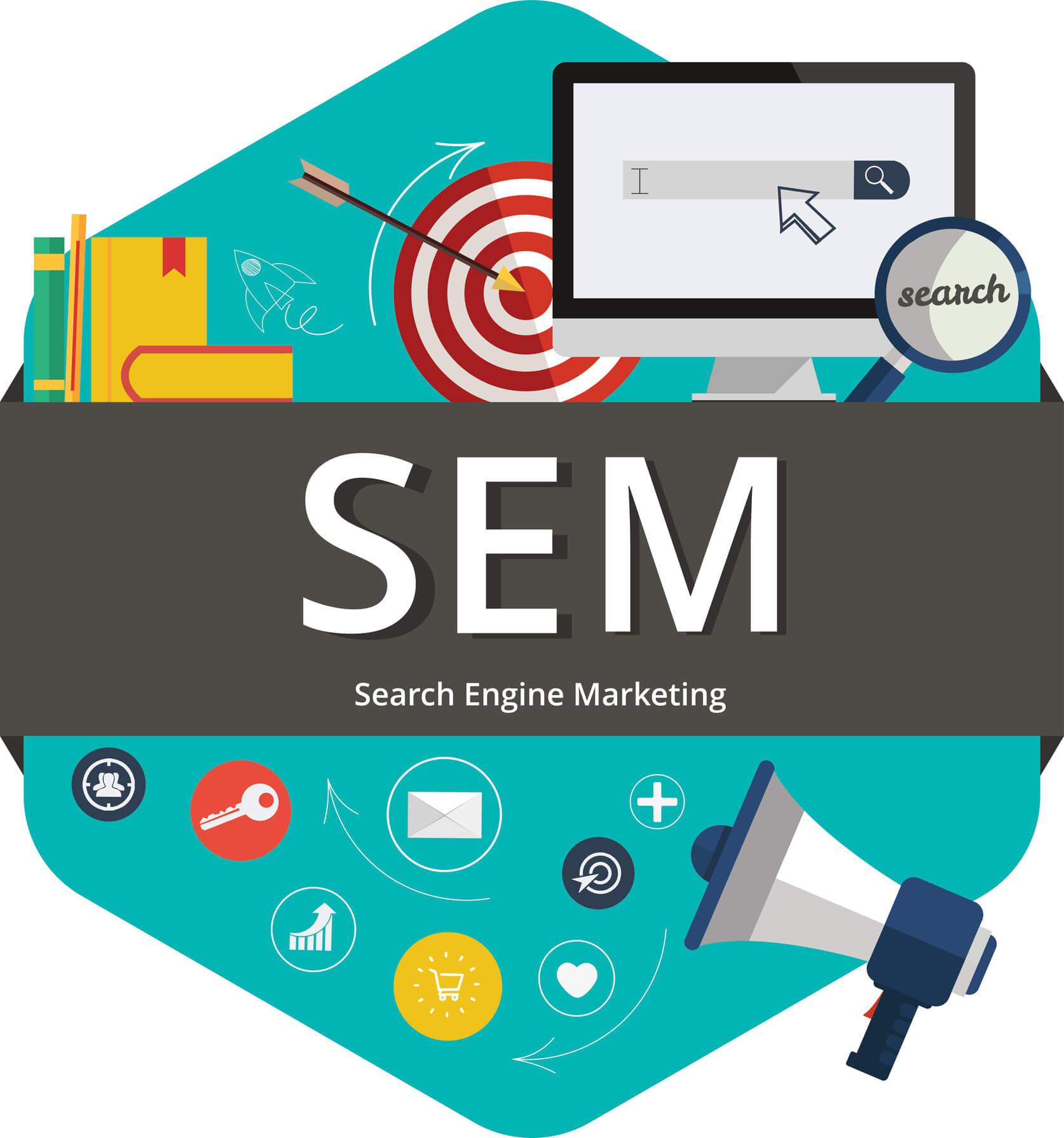 Search Engine Marketing - Engage, Promote, Optimize, Measure