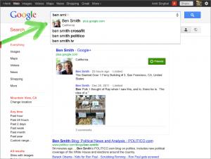 Google Profile Suggest