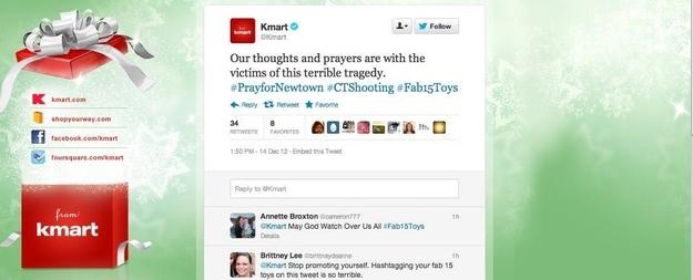Kmart Twitter Blunder