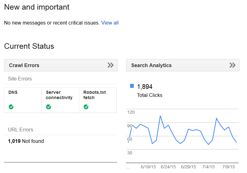 seo benefits of google search console formerly webmaster tools