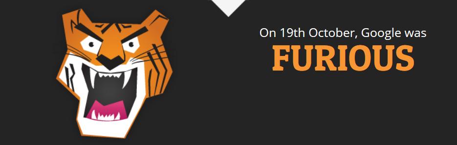 Google Grump Tool Showed Google as Furious on October 19th, 2015